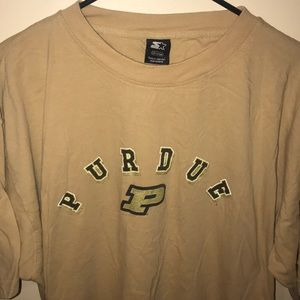 NCAA x Starter Purdue University T-Shirt